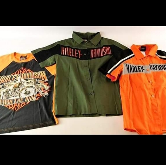 Harley-Davidson Other - Harley Davidson Shirt Trio- Youth 12/14